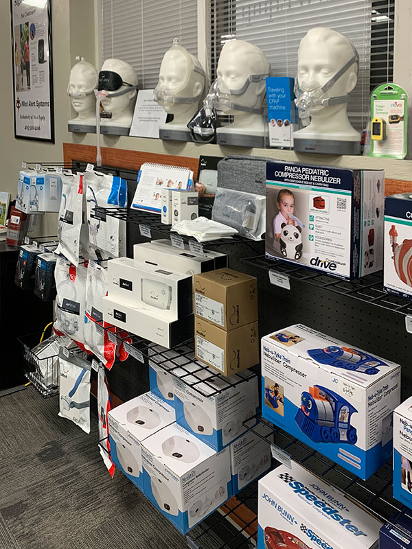 CPAP and respiratory products