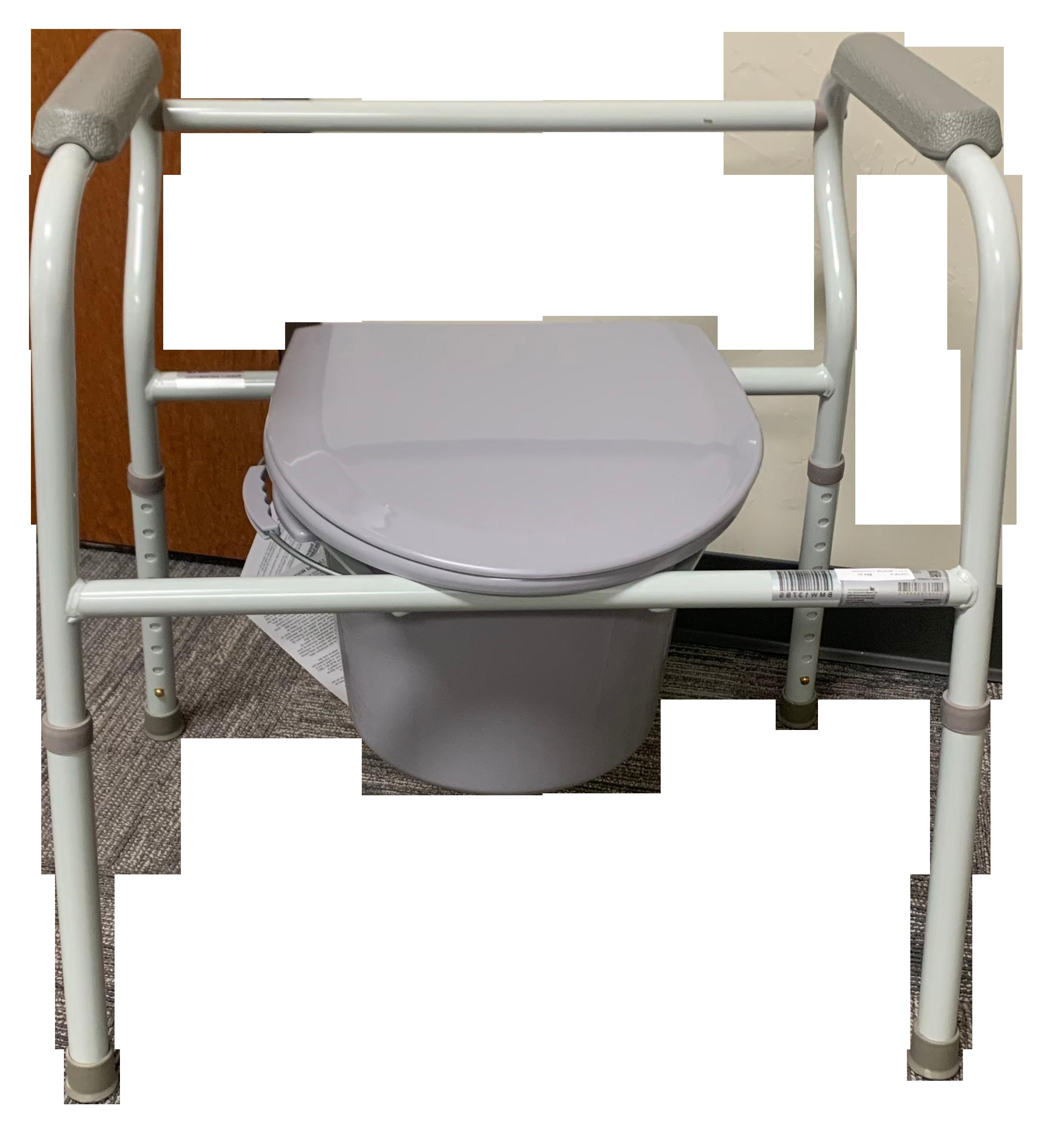 bedside toilet